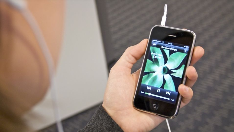 Spotify på iPhone sluker megabytes