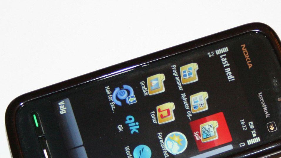 Ny programvare til Nokia 5800 Xpress Music