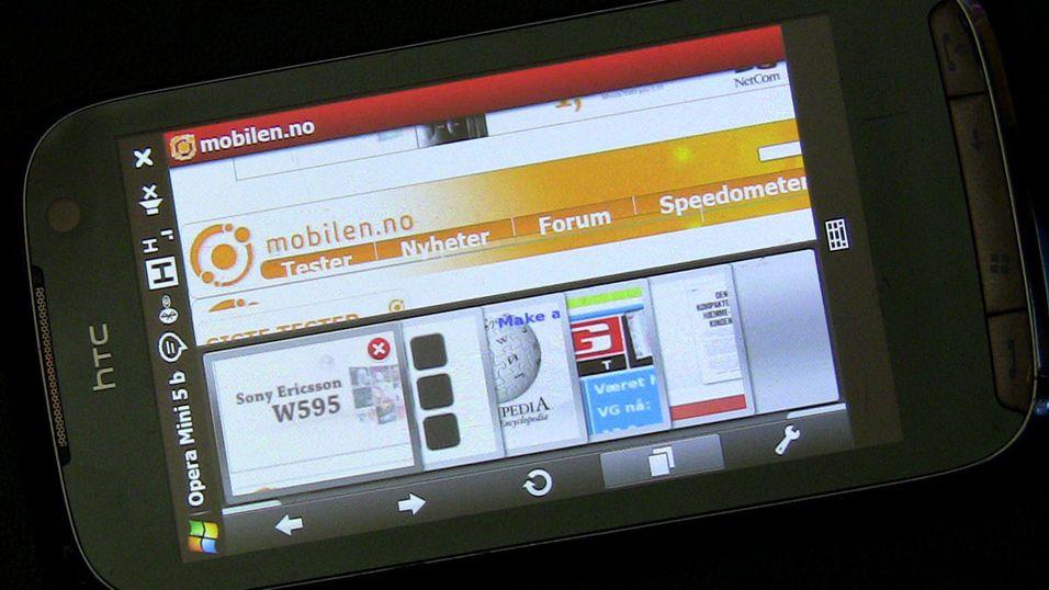 TEST: Test: Opera Mini 5 beta med touch