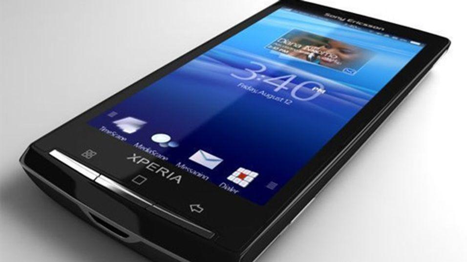 Første bilder av Sony Ericsson X3
