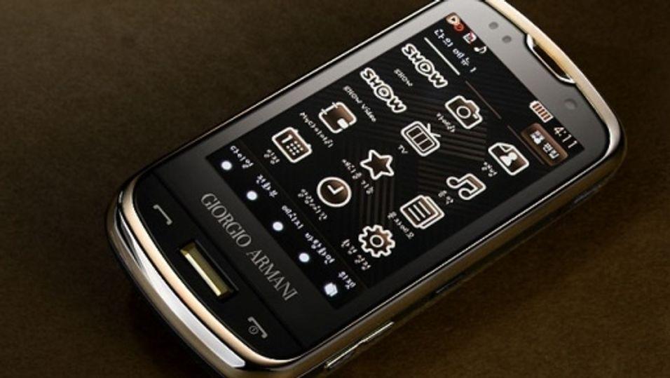 Samsung og Armani går for gull