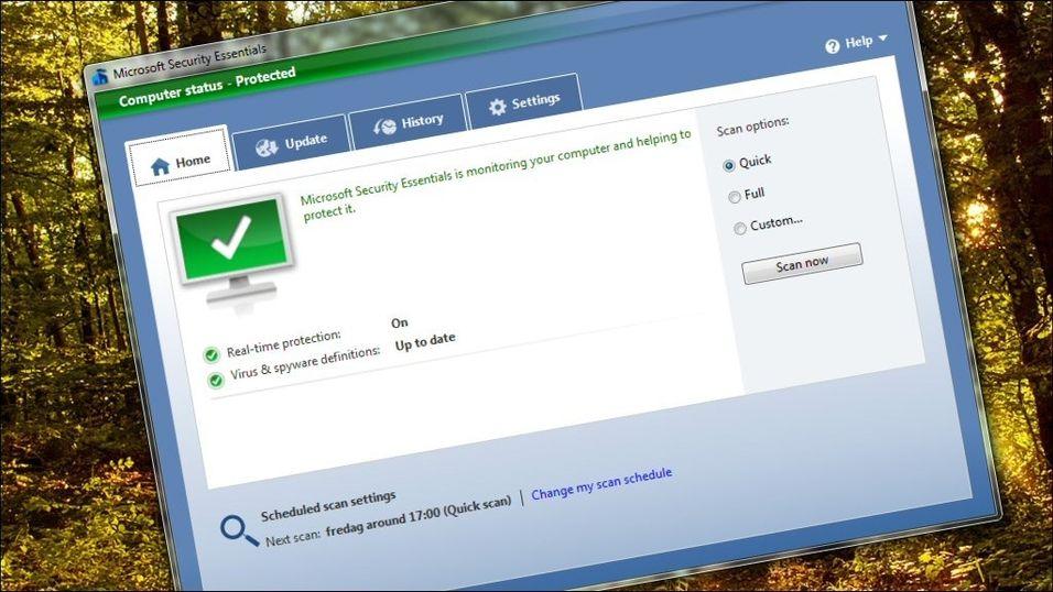 Slik er Microsofts antivirus