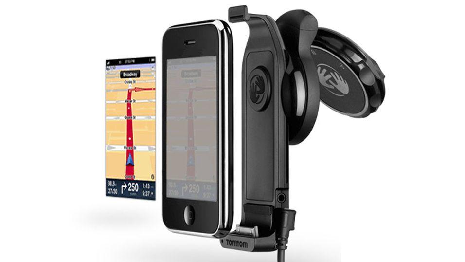 Nå er TomToms bilsett for iPhone i salg