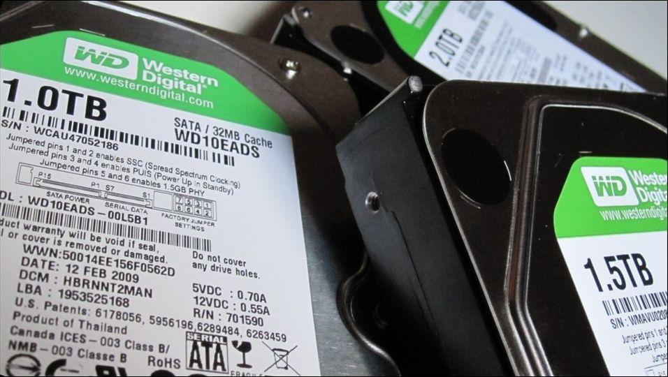 TEST: Test: Tre store harddisker