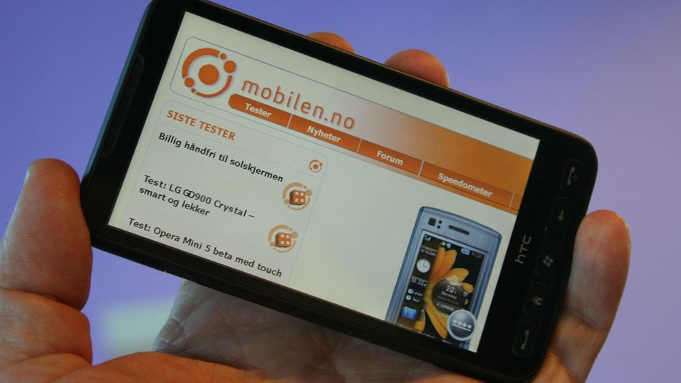 TEST: Test: HTC Touch HD 2 (Leo) - Verdens råeste mobil