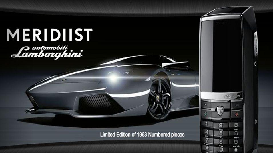 TAG Heuer med eksklusiv Lamborghini-mobil