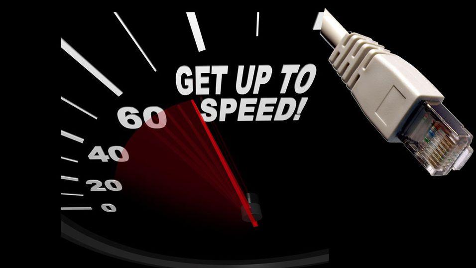 Så rask er din internettforbindelse