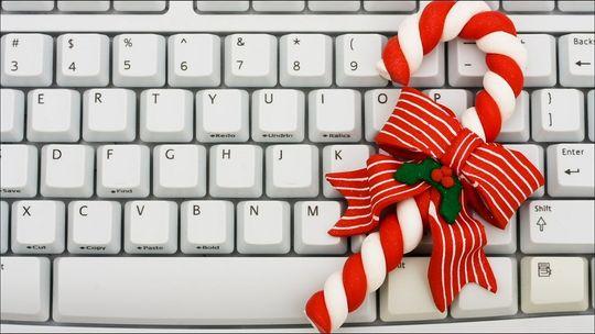 Nytt tastatur i gave: tja? Gammelt tastatur i gave: nei!