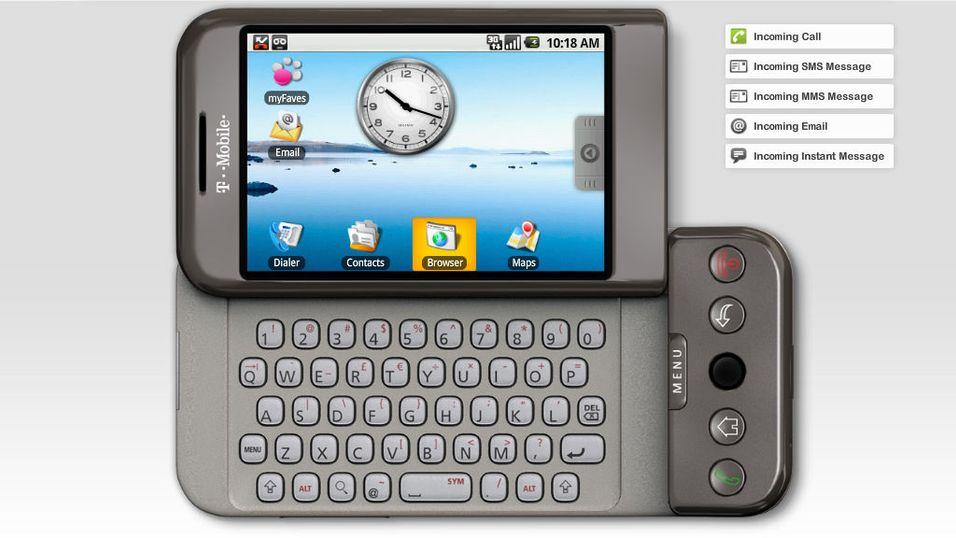 Android 2.0 kjører på HTC Dream