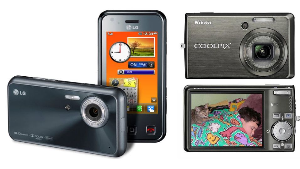 TEST: Kameramobil versus kompaktkamera