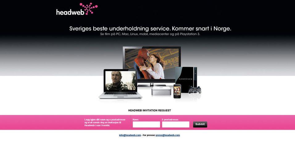 Headweb til Norge