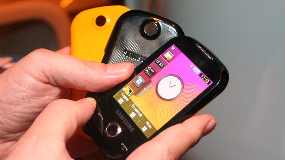 TEST: Test: Samsung Corby – Touch for folket
