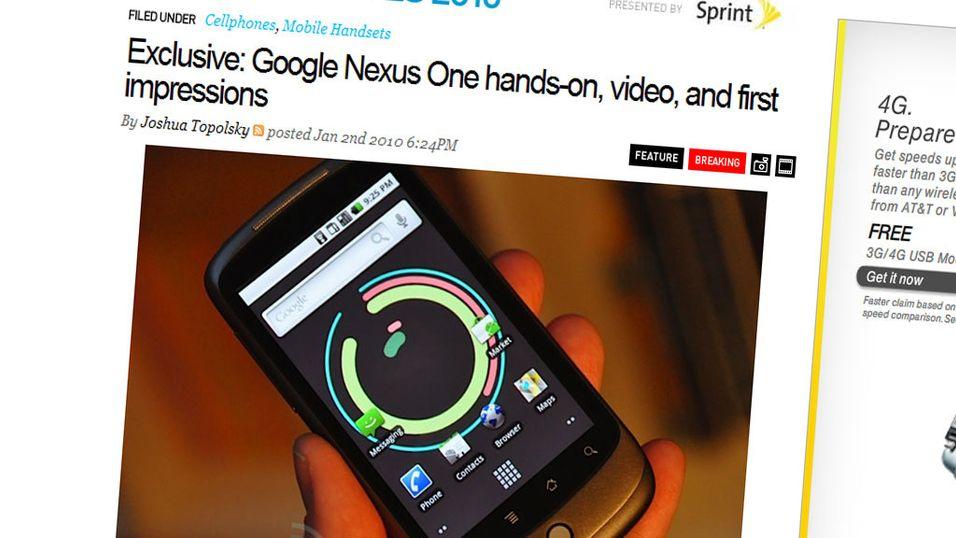 Google-mobilen ikke til Norge