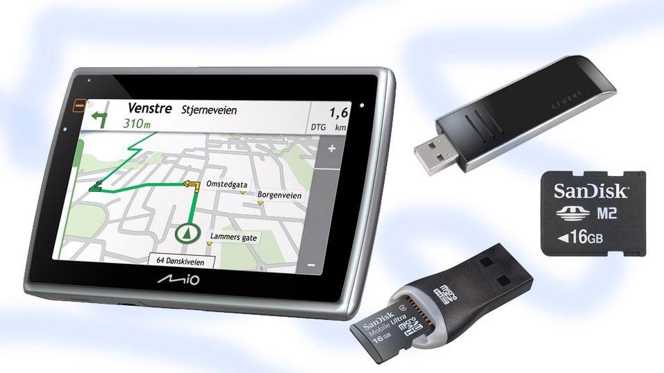 Vant du GPS-en fra Mio?
