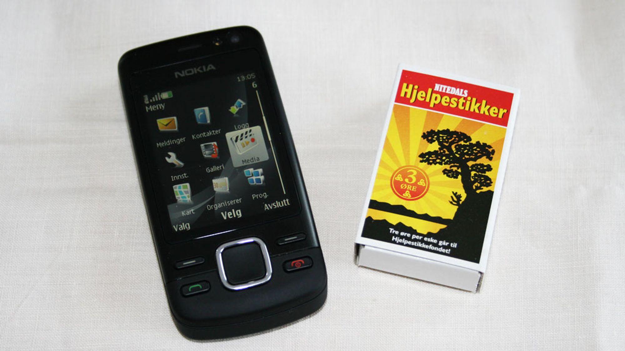 TEST: Test: Nokia 6600i Slide – Enkelt og greit ...