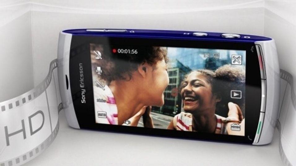 Ny Sony Ericsson med HD-video
