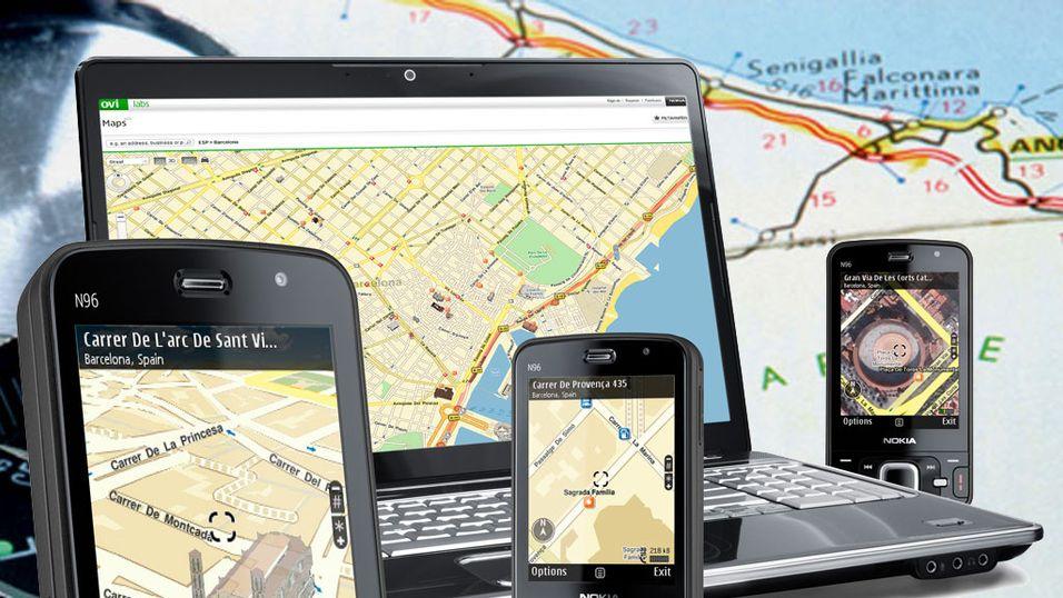 Slik fungerer Nokias gratisnavigasjon