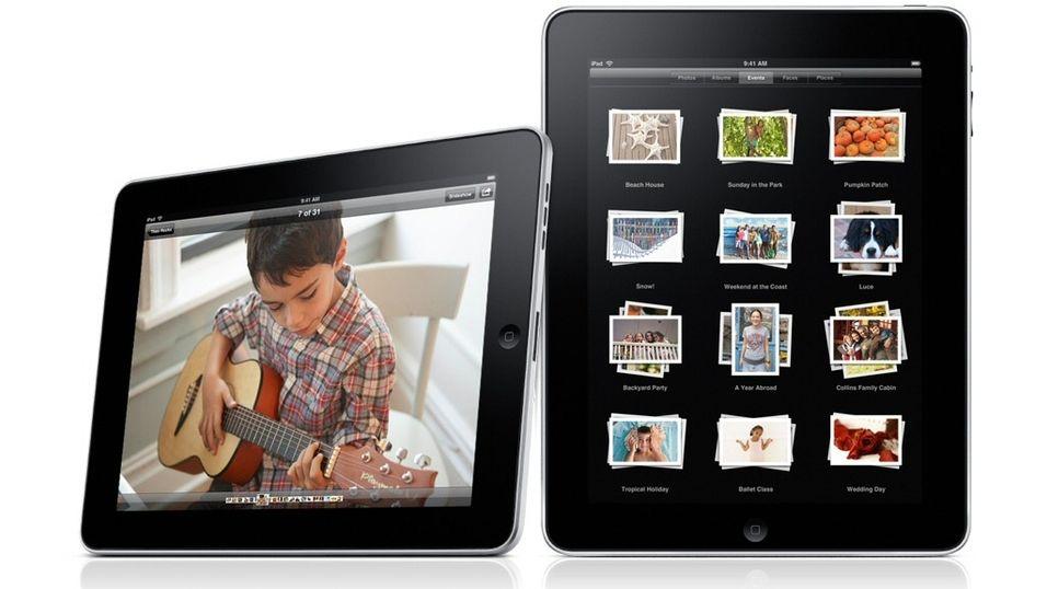 Ja, det ble iPad