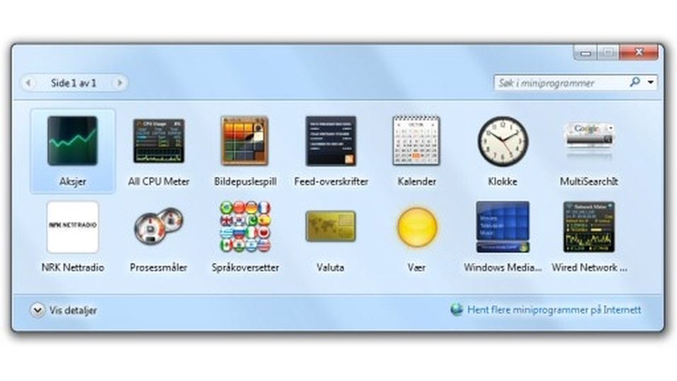 10 gode Windows-gadgets