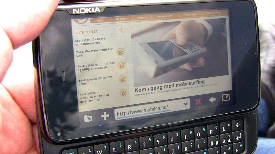 Nå kjører Nokia N900 Mac OS X 10.3