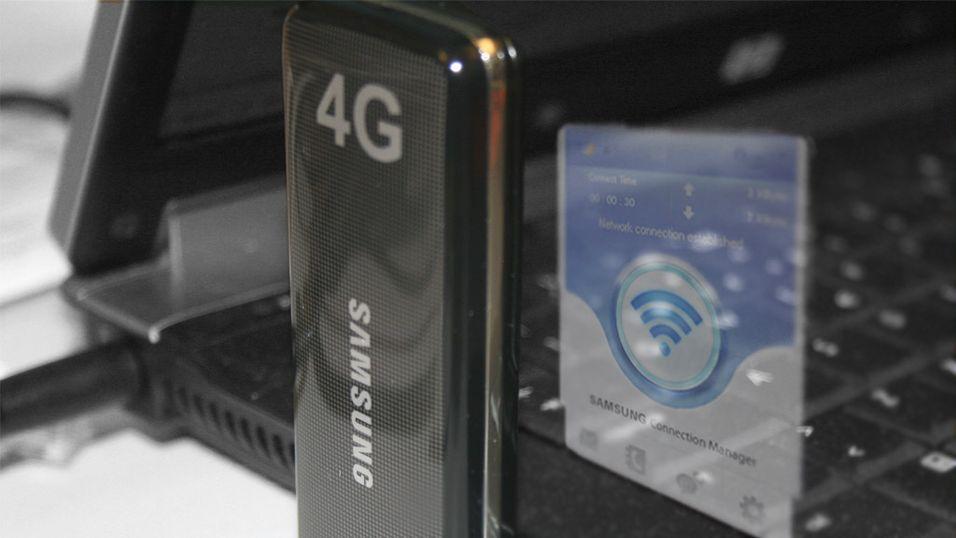 Viser 4G-mobil denne måneden