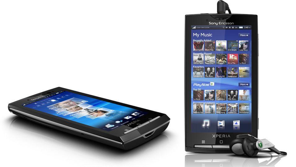 Xperia X10 får ny Android-versjon