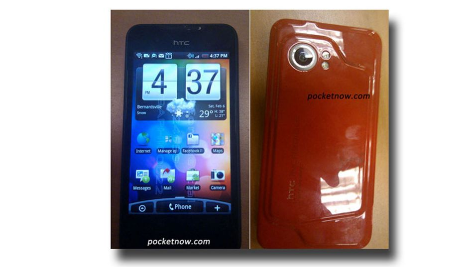 Nye bilder av HTC Incredible