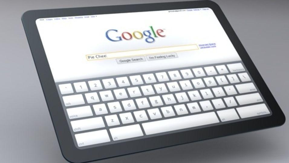 Google tar opp iPad-konkurransen