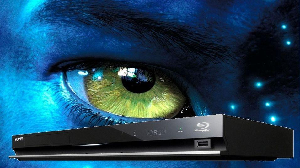 Blu-ray spiller med 3D
