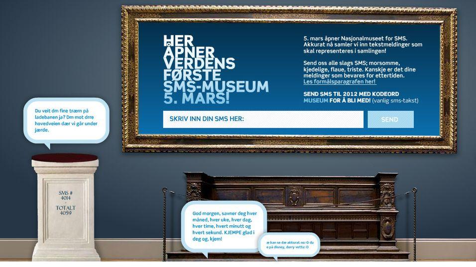 Norsk SMS-museum åpnes i dag