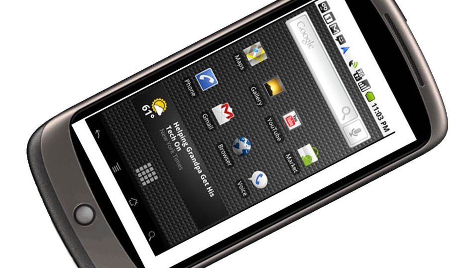 Nexus One billigst i Ludostore