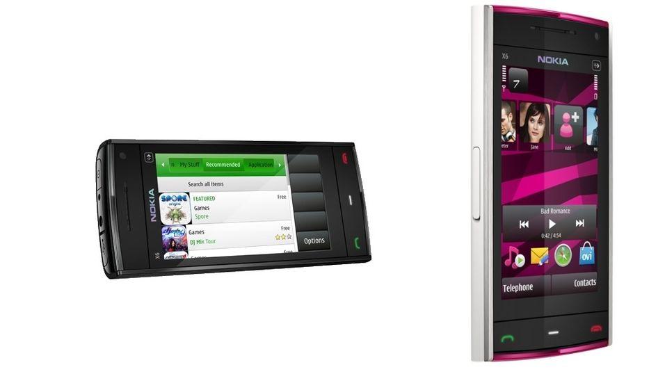 Nokia X6 er her