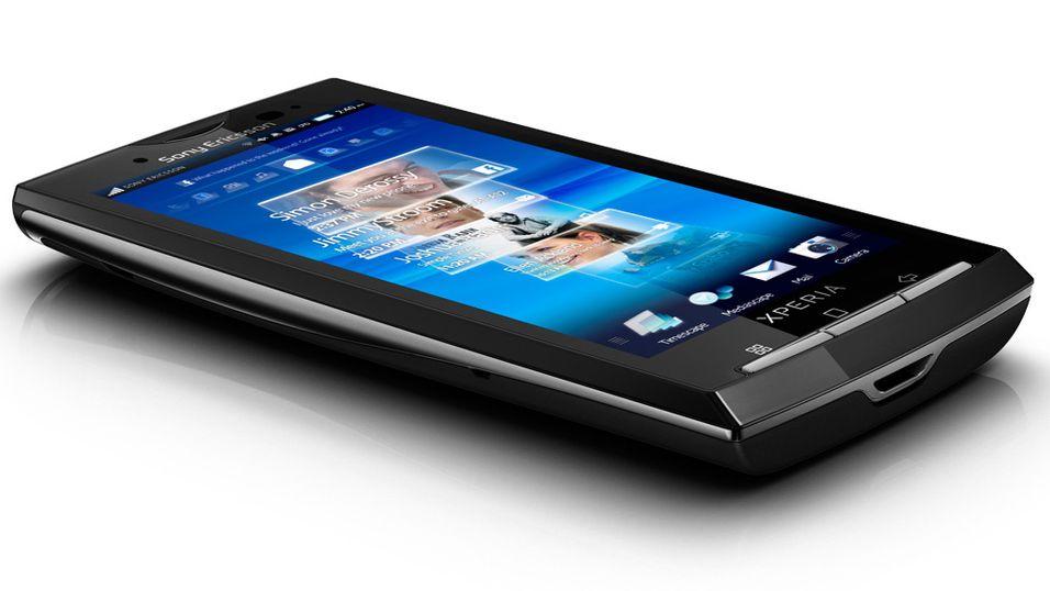 Slik er Sony Ericsson X10