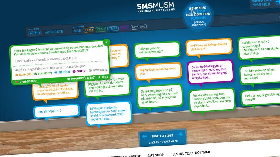 Vi besøkte SMS-museet