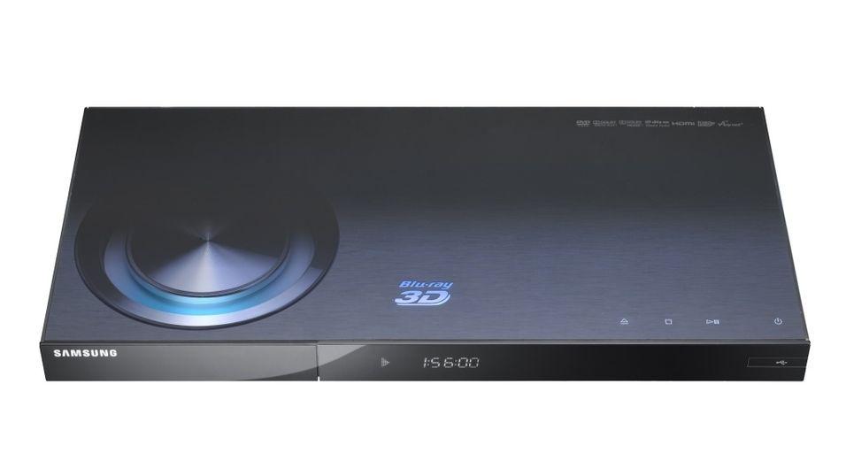 Verdens første Blu-ray-spiller med 3D