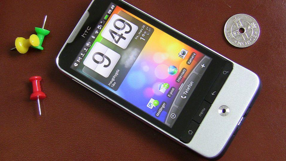 TEST: Test: HTC Legend - slik skal det gjøres!