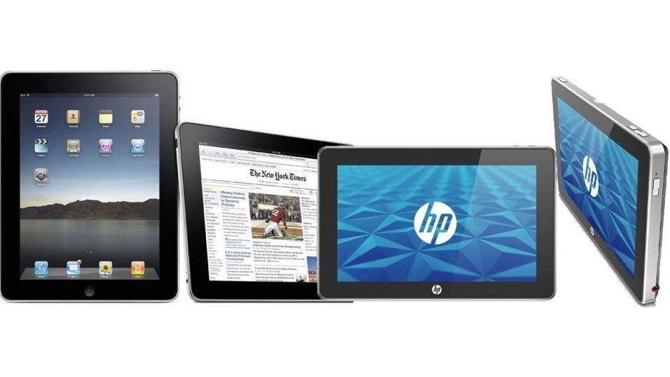 HP Slate vs Apple iPad