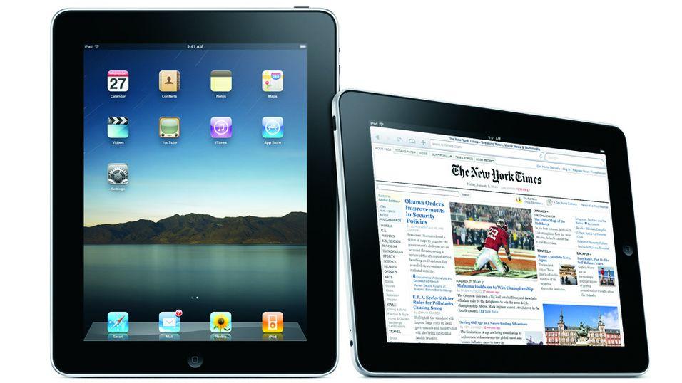 Førsteinntrykkene av iPad