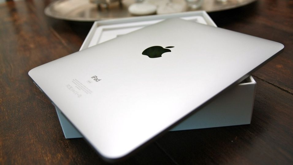 Vi pakker ut iPad