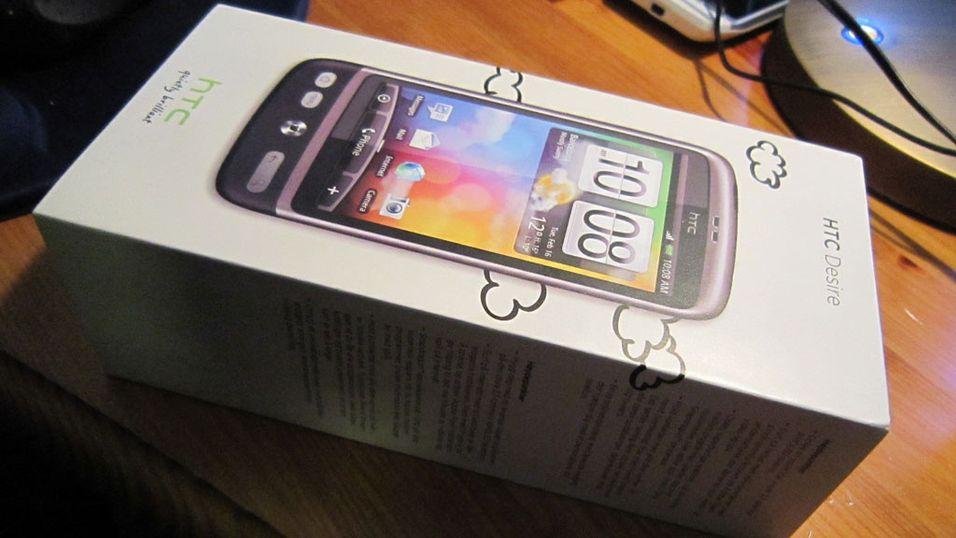 Vi pakker ut HTC Desire