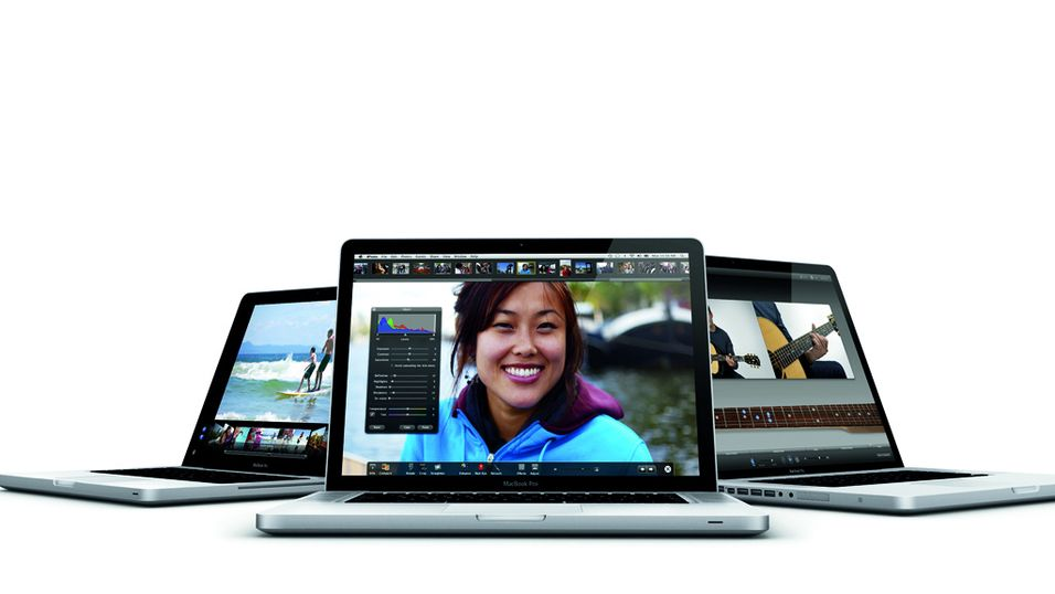Apple oppgraderer Macbook Pro
