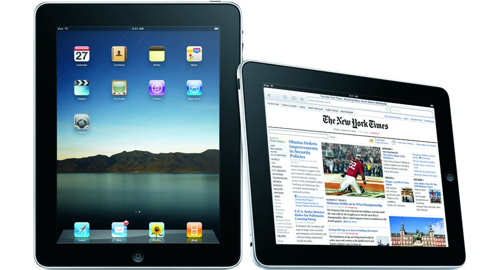 iPad ut i tåka