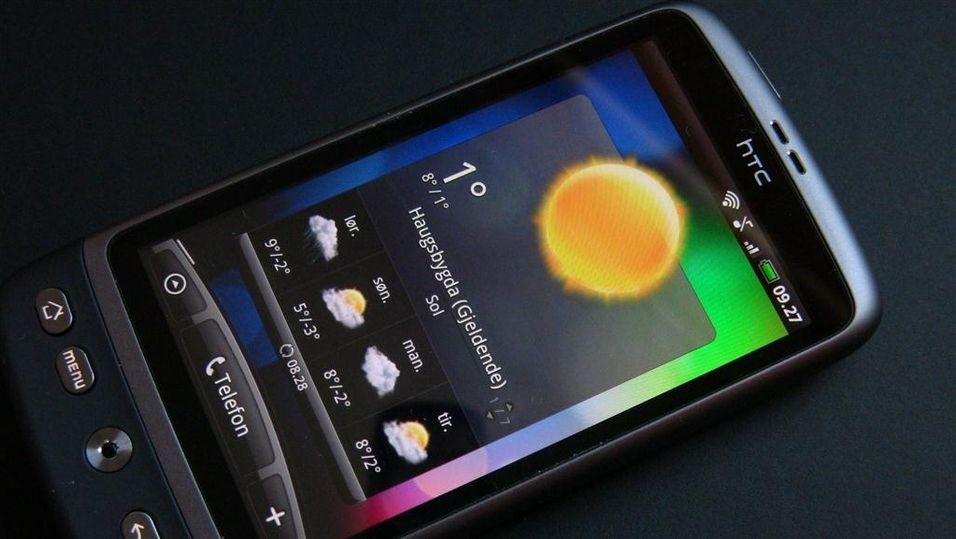 TEST: Test: HTC Desire – Lett å bli glad i