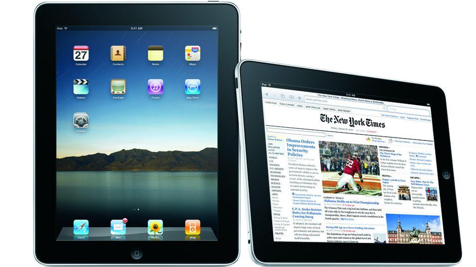 I dag kommer iPad 3G