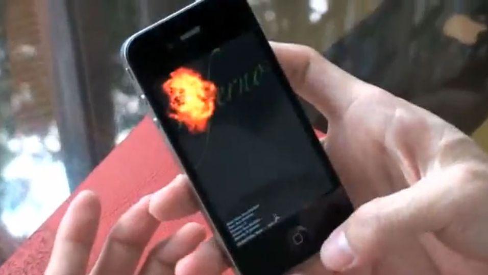 Ny video av iPhone 4