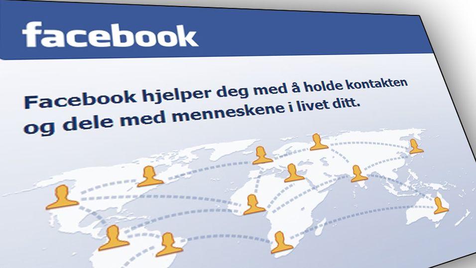Få varsling når Facebook kapres