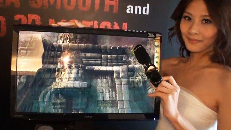 Verdens største 3D-skjerm for PC
