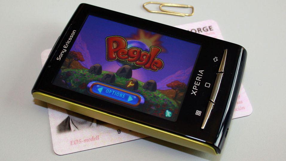 Sniktitt: Sony Ericsson X10 Mini