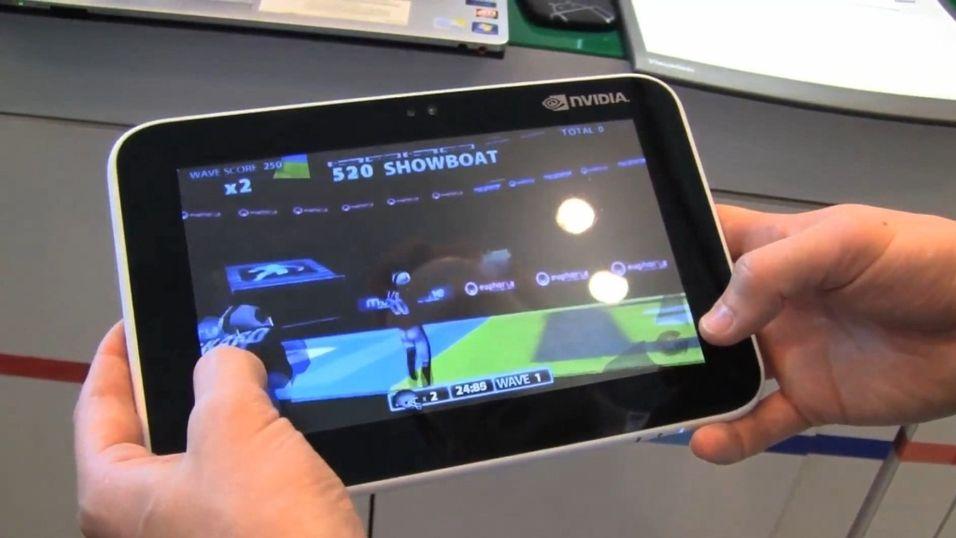 Skal kverke iPad på spill