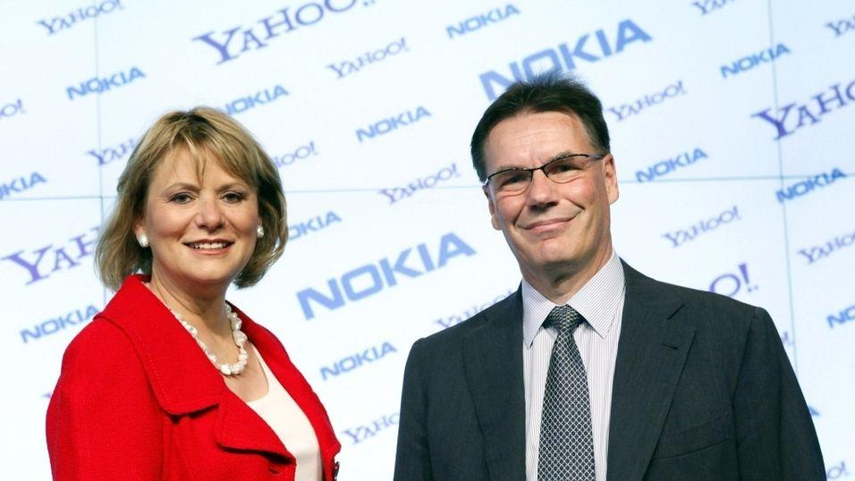 Nokia + Yahoo = sant